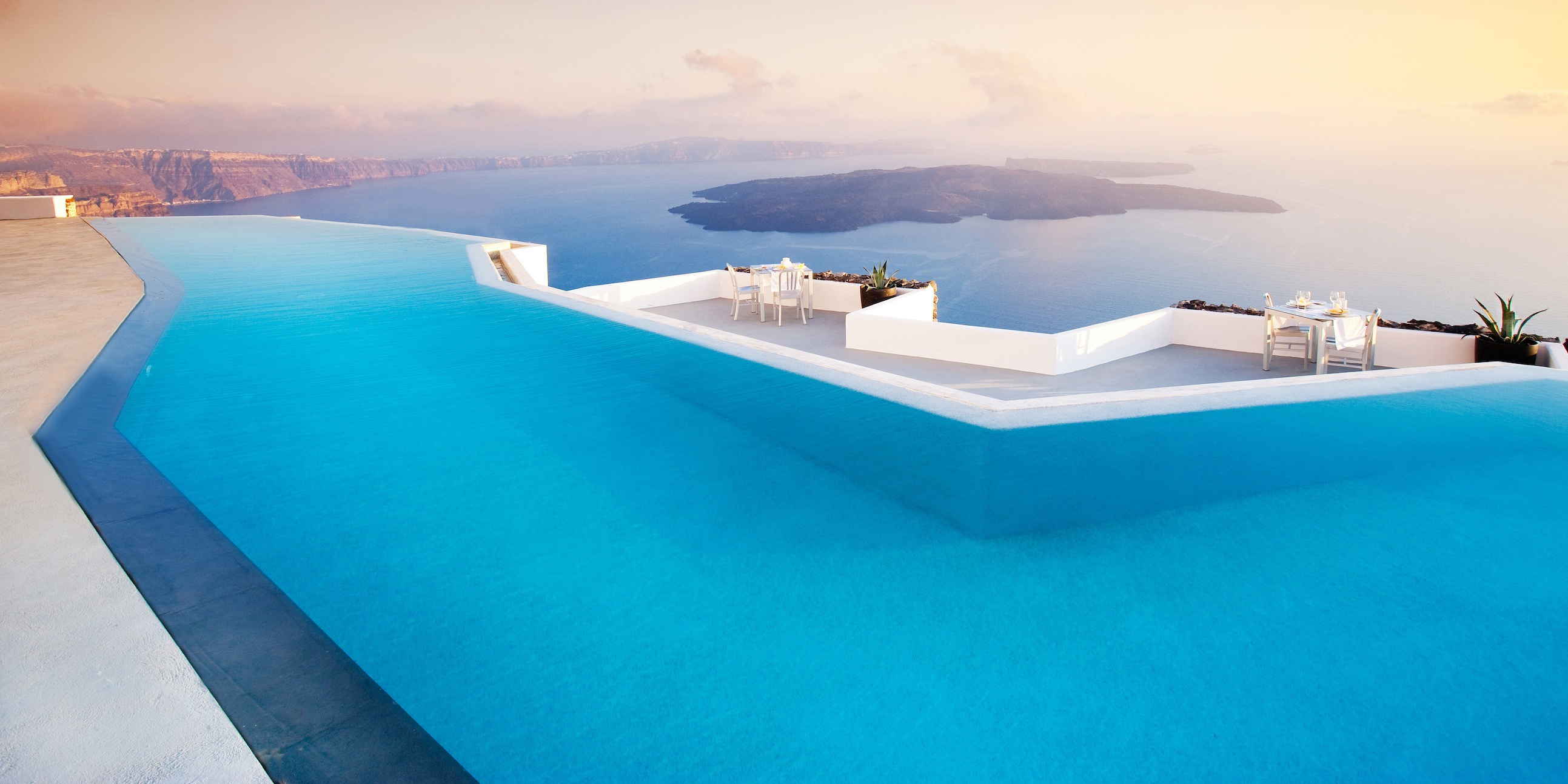 Santorini-landscape-resort-swimming-pool-beauty-luxury-hd-wallpaper