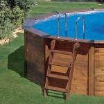 Piscina fuori-terra in legno Nature Pool Hawaii