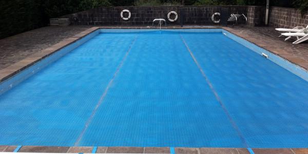 Copertura per piscina a telo