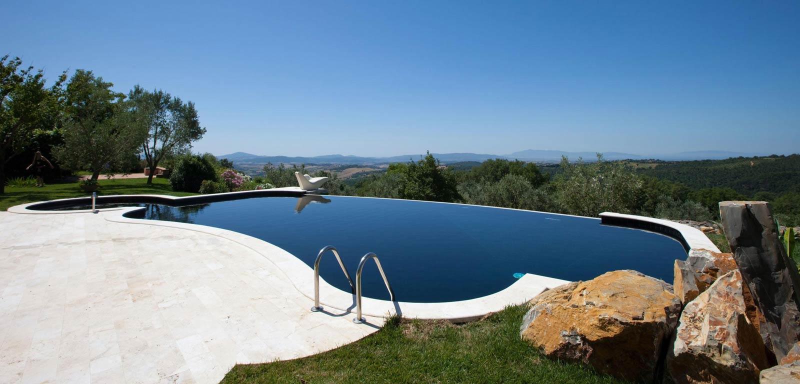 Piscine Sfioro A Cascata sfioro a cascata per piscine interrate - cvp italia