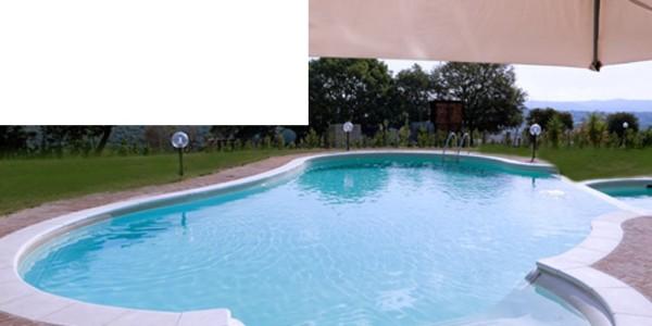 Liner in PVC Bianco, per piscine.