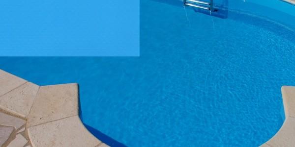 Liner in PVC Blu, per piscine.