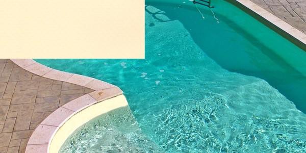 Liner in PVC Sabbia, per piscine.
