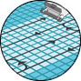 Pulizia vasca robot piscine Dolphin Maytronics