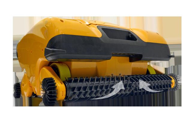 Robot pulitore per piscine pubbliche Dolphin Wave 200 XL