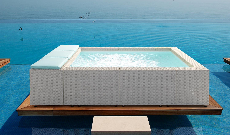 Linea piscine fuori terra playa cvp italia for Playa piscina